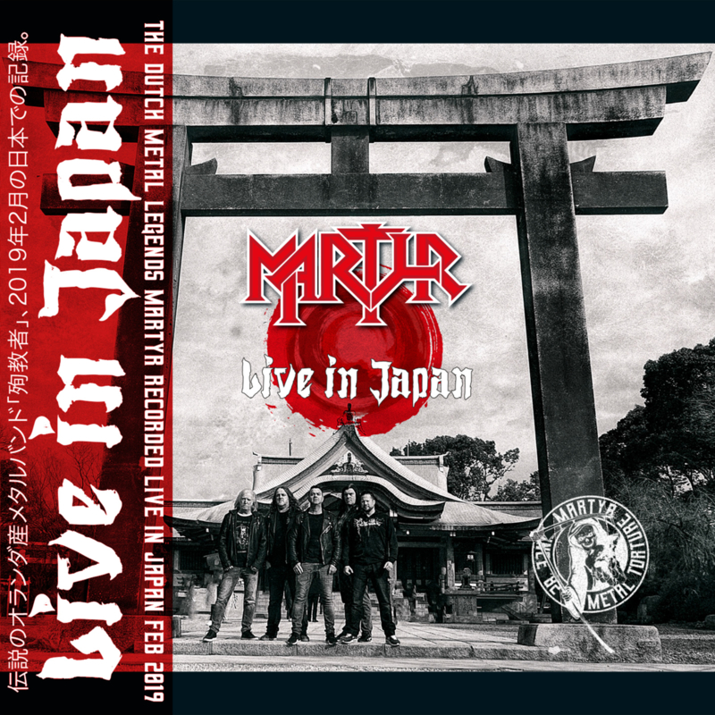 Martyr - Live in Japan - Red edition