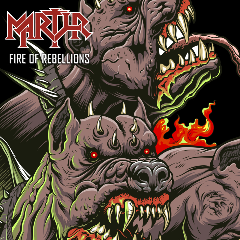 Fire of Rebellions - CD Single (sleeve)
