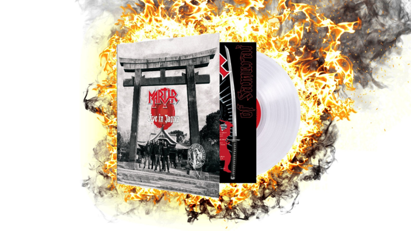 "Live in Japan - Vinyl 12"" White Gatefold 2 LP"