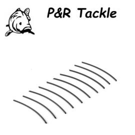 P&R Shrink Tube Zwart 2.0mm 5cm 10stuks