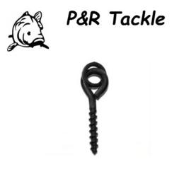 P&R Bait Screws met ronde ring 10stuks