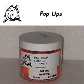 P&R Pop Ups Sweetest 80gram 20mm