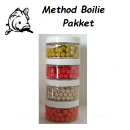 Method Boilie Pakket 4potjes