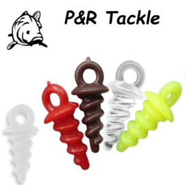 P&R Pop Up Bait Screw gemengd 10stuks
