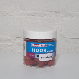 GoodFish Hookpellet Strawberry 8mm 80gram met gat