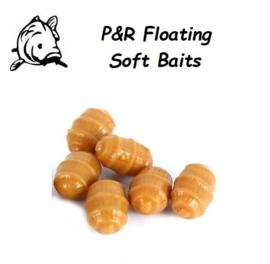P&R Floating-Soft Baits Tigernuts 6stuks