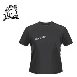 P&R CARP T-shirt Zwart