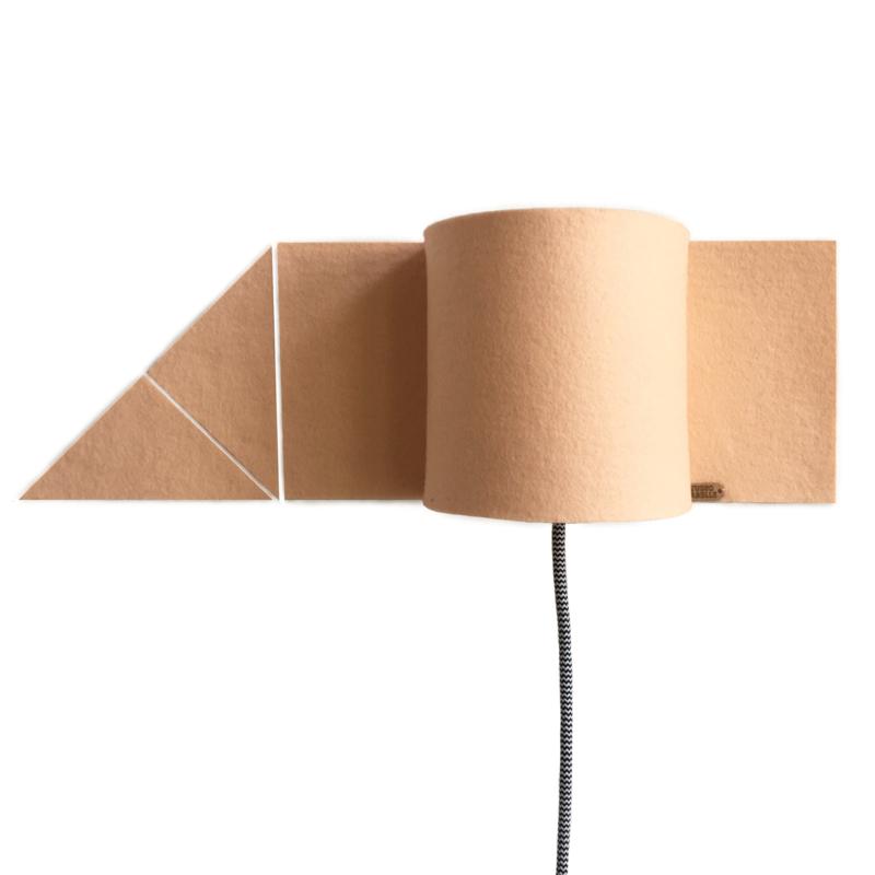 walllamp + triangles
