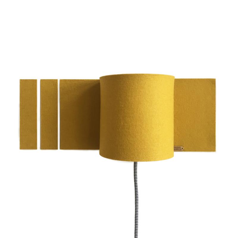 walllamp + rechthoekjes