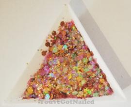 Chunky glitter mix - Royal Princess