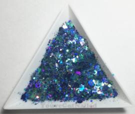 Chunky glitter mix - Ocean