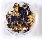 Folie zwart goud