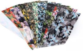 Folie set camouflage