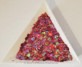 Chunky glitter mix - Passion