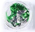 Folie groen zilver