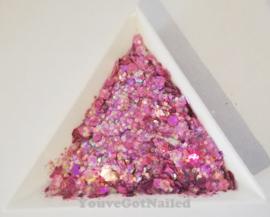 Chunky glitter mix - Magic Lilac
