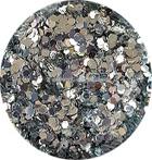 Hexagon mix zilver
