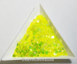 Chunky glitter mix - Glow