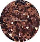 Hexagon mix koper-bruin