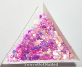 Chunky glitter mix - Princess