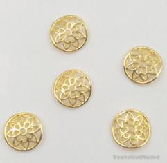 3D cirkel goud