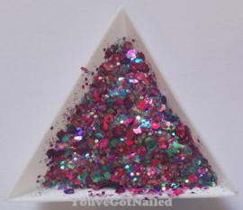 Chunky glitter mix - Blink