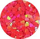 Hartjes donker roze