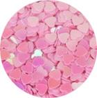 Hartjes roze