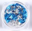Folie blauw zilver
