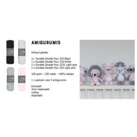 DIY haakpakket knuffels (amigurumi)