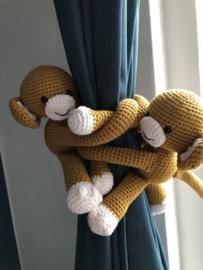 Gordijn aapje