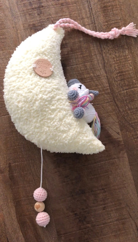 Muziekknuffel met unicorn