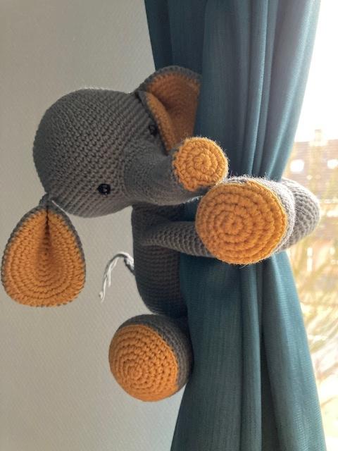 Gordijn olifant