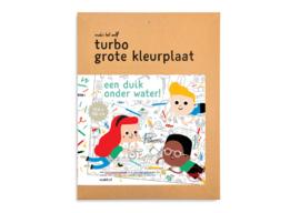 Turbo Grote Kleurplaat - Water