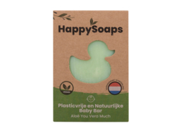 HappySoaps Baby Shampoo en Body Wash Bar Aloë You Vera Much