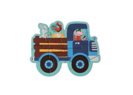 Scratch Starterpuzzels (5 st) boerderij