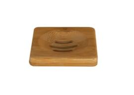 Happy Soaps Zeep Plankje Bamboe - voor 1 Bar-Zeep