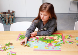 Scratch 60 delige puzzel Prinses
