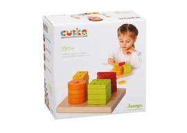 Cubika Sorteerset Vierkant 4 kleuren