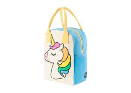 Fluf Zipper Lunch - Unicorn