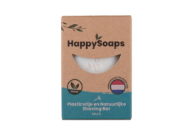 HappySoaps Shaving Bar Munt