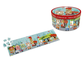 Scratch 100 delige puzzel Stad