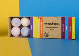 HappySoaps Mini Bath Bombs - Tropical Fruits