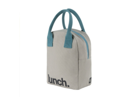 Fluf Zipper Lunch - Lunch Grey Midnight