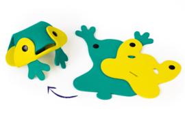 Quutopia 3D Badpuzzel Kikker