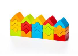 Cubika Stapeltorentjes Blokkenset