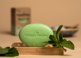 HappySoaps Gezichtsreiniger Tea Tree Pepermunt