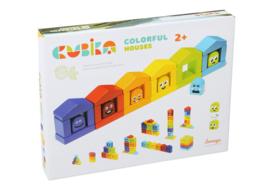 Cubika Kleurrijke Huisjes