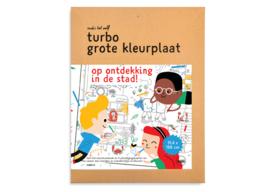 Turbo Grote Kleurplaat - Stad