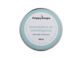 HappySoaps Natuurlijke Deo Eucalyptus Lemongrass